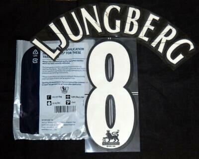 Official Arsenal Ljungberg 8 Football Shirt Name/number 1997/07 Sporting ID • 20$