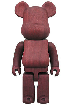 $3200.44 • Buy Medicom Be@rbrick 2019 Karimoku  PURPLEHEART 400% Wood Bearbrick EMS