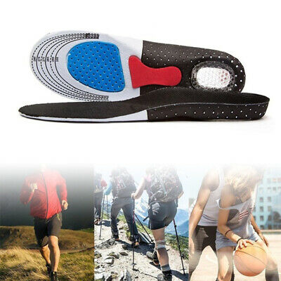 Gel Orthotic Insoles Sport Running Inner Soles Cushion Heel Arch Support Gym PRO • 3.68£