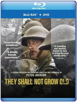 $21.81 • Buy They Shall Not Grow Old [New Blu-ray] With DVD, 2 Pack, Ac-3/Dolby Dig