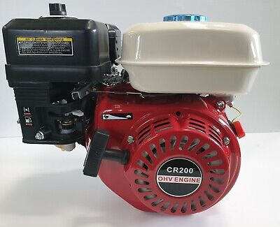 AU189 • Buy 6.5HP Stationary Engine OHV Horizontal Shaft Motor By Cleen Repowerz!