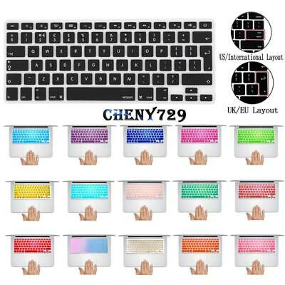 £3.49 • Buy UK / USA Layout Silicon Rubber Keyboard Cover For Apple Macbook Air Pro Retina