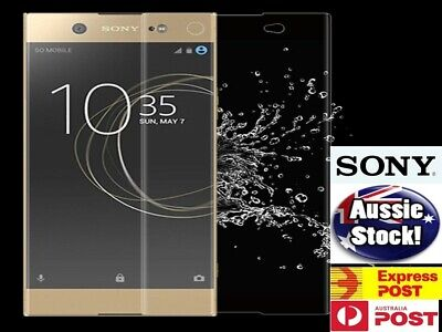 AU5.10 • Buy  Tempered Glass Protector For Sony Xperia X XZ 1 2 Z1 Z2 Z5 Full Screen Coverage