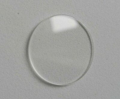 £4.45 • Buy Quality Watch Glass Mineral Crystal Face Flat Round 1.3mm Thick 17mm To 37.5mm