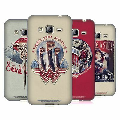 Official Wonder Woman Movie Distressed Art Soft Gel Case For Samsung Phones 3 • 14.95£