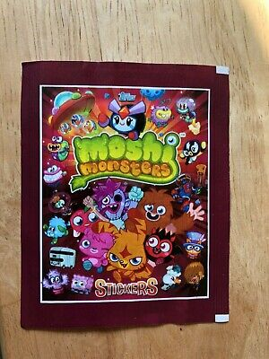 £1.99 • Buy Sealed Packet Of Topps Moshi Monsters Stickers
