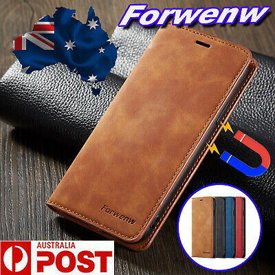 AU14.99 • Buy IPhone XS Max XR 7 8 6S Plus 5S Se 11 Pro Max Leather Wallet Flip Case Cover