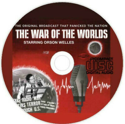 £1.44 • Buy Orson Welles War Of The Worlds Radio Broadcast 1938 CD