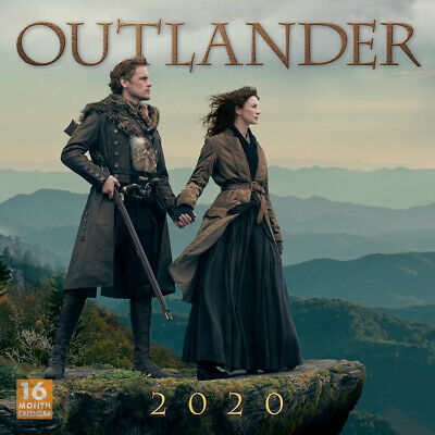 AU22 • Buy Outlander 2020 Square Wall Calendar By Browntrout