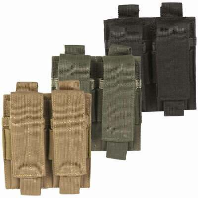 £6.95 • Buy Mil-Tec Double Pistol Magazine Ammo Pouch MOLLE Airsoft Military Tactical Army