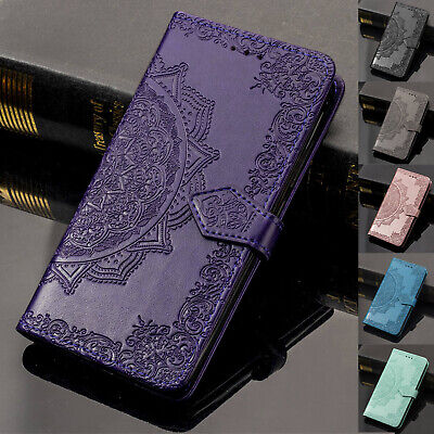 $ CDN6.33 • Buy For Samsung Galaxy S10+/Note 9/S9/S8+ Wallet Retro Leather Flip Stand Case Cover