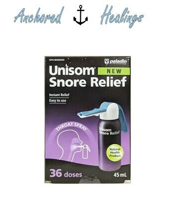 Unisom Snore Instant Relief Throat Spray Easy To Use 36 Doses 45mL Exp.05/2021 • 17.10£