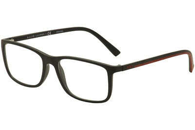 e821583c0bbd Polo Ralph Lauren Men's Eyeglasses PH2162 PH/2162 5284 Black Optical Frame  56mm • 109.95