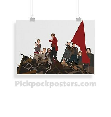 £3.99 • Buy Les Miserables, Print, Poster, Prints, Posters, Wall Art, Gift, Gifts