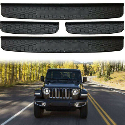 $22.99 • Buy 4 Door Sill Guards Plate Cover Fits For 2018 2019 Jeep Wrangler JL Accessories
