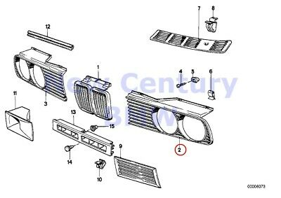 $120.38 • Buy BMW Genuine Body Equipment Vehicle Trim Grille Grille Left E30