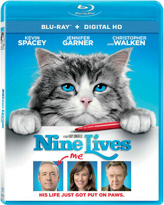 AU28.99 • Buy Nine Lives (2016 Kevin Spacey) BLU-RAY NEW