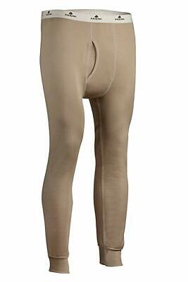 $14.99 • Buy Indera Mens Military Weight Fleeced Polyester Thermal Underwear Pant Sand 985DR