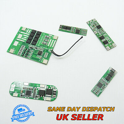 18650 3 Cells Li-ion Battery Protection Boards Li-Po 2-30A BMS PCB Lithium 3S • 32.83£