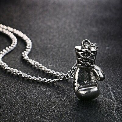 $12.89 • Buy 10pcs Men And Women Fitness Boxing Gloves Pendants Necklace, Steampunk Necklaces