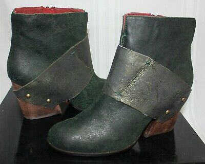 $71.96 • Buy Everybody By BZ Moda Cody Boots Forest Green Burnished Suede Size 40 New