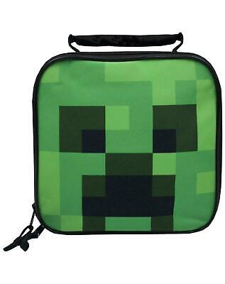 £12.99 • Buy Minecraft Lunch Box Creeper School Food Container Childrens Bag One Size