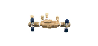 $118.50 • Buy Double Check Valve Assembly 3/4 In Bronze Backflow Preventer Water Safety FIP