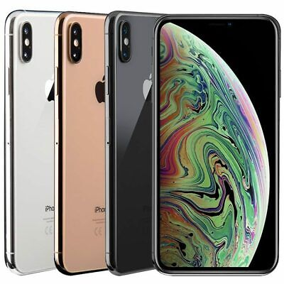 AU759 • Buy Apple IPhone Xs Max 64GB 256GB 512GB - Network Unlocked *All Colours Available*