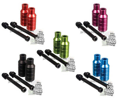 Madd Gear MGP Extreme Scooter Stunt Pegs With Axles • 14.95£