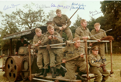 £2.99 • Buy DADS ARMY Poster Cast Multi, Signed Autograph PRINT 6x4 GIFT