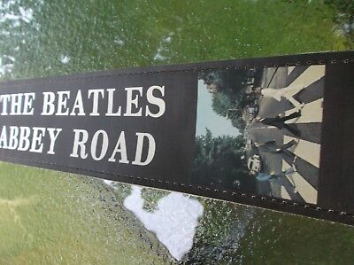 $ CDN31.90 • Buy Guitar Strap The Beatles Abbey Road 2 1/2  Width Soft Leaather