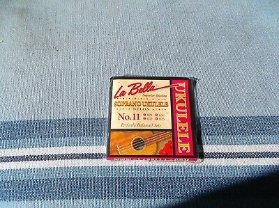 $ CDN6.95 • Buy (01) LABELLA Ukulele Strings Soprano