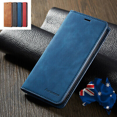 AU14.98 • Buy IPhone X XS Max XR 7 8 Plus 6S 5S SE 11 Pro Max Case, Leather Wallet Flip Cover