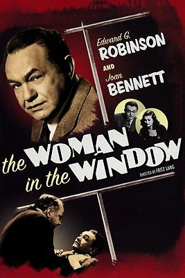 AU12 • Buy The Woman In The Window  (Colorized)  1944  Edward G Robinson    DVD