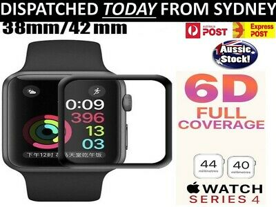 AU5.24 • Buy For Apple Watch Series SE 6 5 4 3 2 1 IWatch OEM TEMPERED GLASS Screen Protector