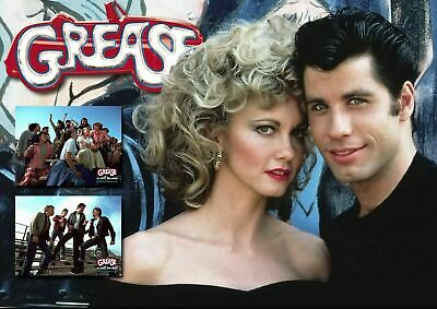 £1.95 • Buy GREASE Movie  Poster A5..A4.. A3.. A2.. Options 260gsm