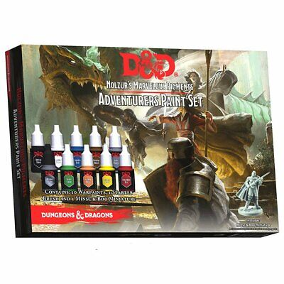 AU45.75 • Buy D&D Nolzurs Marvelous Pigments Adventurers Paint Set