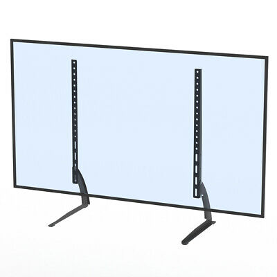 TV Mount Simple Wall Mount 40-65  Bracket LCD Screen TV Stand Table Top Black • 14.39$