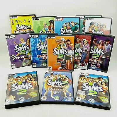 £17.95 • Buy The Sims 2 PC Base Game / Expansion Packs (CD's VGC) With Manuals 1st Class Post