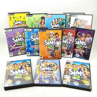 The Sims 2 PC Base Game & Expansion Packs (CD's VGC) With Manual  1st Class Post • 10.75£