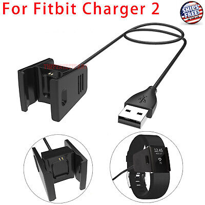 $ CDN5.49 • Buy Charger For FITBIT CHARGE 2 USB Charging Cable Activity Wristband Cord Wire NEW