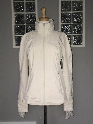 $ CDN104 • Buy Lululemon Raindrop Jacket 10 Angel Wing Windbreaker Glyde Rain Dwr Euc Rare