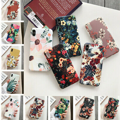 AU4.99 • Buy Various Flower Cute Silicone Soft Case Cover For IPhone 12 Pro Max 11 Xs XR 7 8
