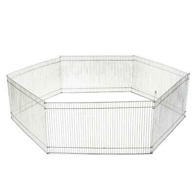 Indoor Outdoor Pet Play Pen Folding Hamster Guinea Pig Rabbit Run Safe Enclosure • 19.99£