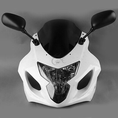 $354.96 • Buy Motor ABS Upper Fairing Cowl Combo Fit For Suzuki GSXR 600 GSX-R 750 2004-2005