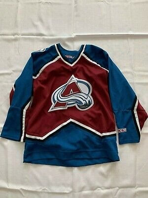 new product 4134b 50bb8 avalanche jersey