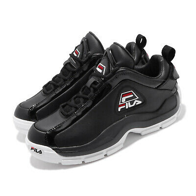 AU164 • Buy Fila 96 Low Trademark Grant Hill Black White Red Men Basketball Shoes Sneakers