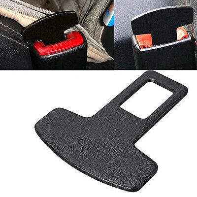 $ CDN1.59 • Buy 1PC Car Black Accessories Safety Seat Belt Buckle Alarm Stopper Eliminator Clip