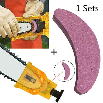 £7.89 • Buy Chainsaw Teeth Sharpener Chain Saw Blade Sharpening Grinder Tool+ Grinding Stone