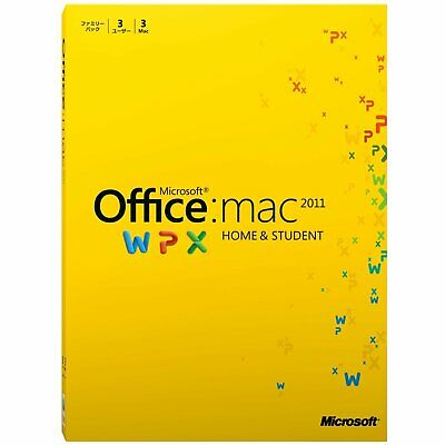 AU604.51 • Buy [Old Goods] Microsoft Office For Mac Home And Student 2011 F With Tracking Used